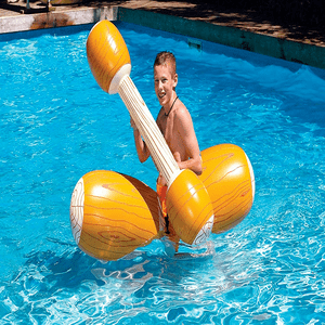 Super Fun Log Flume Jousting Swimming Pool Game Set By Swimline On Amazon