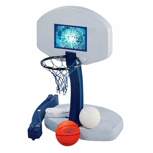 Basketball And Volleyball Combo Swimming Pool Game By SwimWays On Amazon