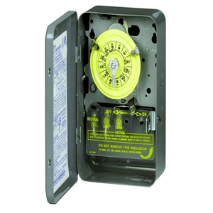Electromechanical 40 Amp 24 Hour Timer By Intermatic On Amazon