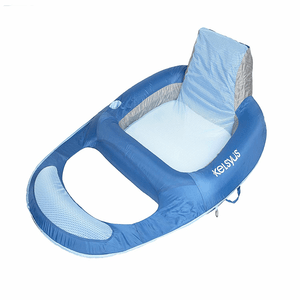 Kelsyus Floating Lounger Swimming Pool Float With Built In Cup Holder On Amazon