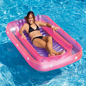 Ultimate Comfort Suntan Tub Swimming Pool Float For Ages 13 And Above By Swimline On Amazon