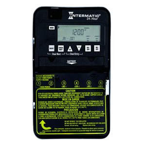 24-Hour 30-Amp Electronic Pool Timer Switch By Intermatic On Amazon