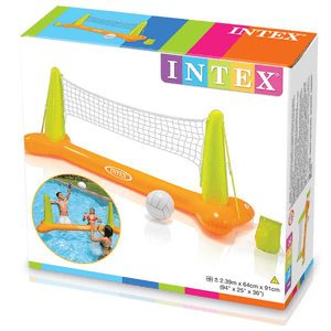Sturdy Inflatable Swimming Pool Volleyball Game With Repair Kit For Ages 6+ By Intex On Amazon