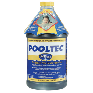 EasyCare PoolTec Algaecide, Clarifier And Chlorine Salt Cell Booster On Amazon