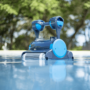 Dolphin Premier Robotic Pool Cleaner With Powerful Dual Brushes On Amazon