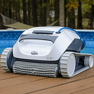 Dolphin E10 Automatic Robotic Pool Cleaner With Filter Basket On Amazon