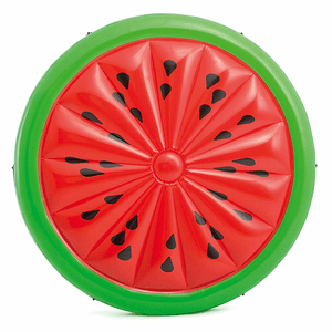 Relaxing Watermelon Island Inflatable Swimming Pool Float 72 Inches On Amazon
