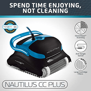 Dolphin Nautilus CC Automatic Robotic Pool Cleaner On Amazon