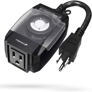 24-Hour Mechanical Timer Water Resistance ETL Listed On Amazon