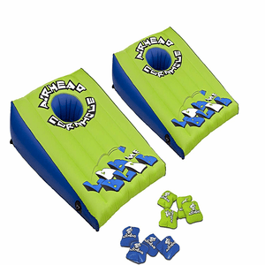 LOB THE BLOB Cornhole Swimming Pool Game Set By AirHead On Amazon