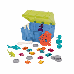 28 Piece Treasure Chess Pirate Water Diving Set Toy Swimming Pool Games On Amazon