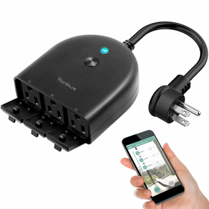 Smart Waterproof Outdoor Outlet Timer Plug Pool Timer On Amazon