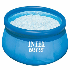 Intex 8ft. x 30in. Complete Above Ground Swimming Pool Set With Pump, Hoses And Filters On Amazon