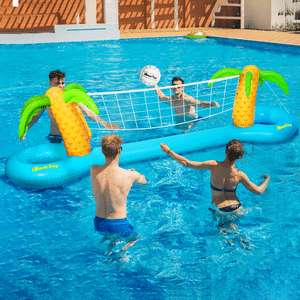 Inflatable Floating Water Pool Volleyball Swimming Pool Game Set On Amazon