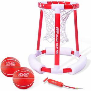 Splash Hoop 360 Floating Basketball Swimming Pool Game By GoSports On Amazon