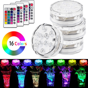 Waterproof Battery Operated LED Pool Lights For Pools And Spa On Amazon