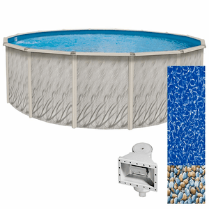 Lake Effect Meadows Reprieve 15ft Round Above Ground Swimming Pool On Amazon