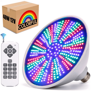Color Changing Underwater LED Pool Light For Inground Pool 12-Volts On Amazon