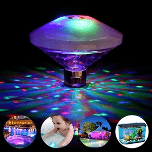 Floating Swimming Pool Lights Colorful For Disco Pool Party's On Amazon