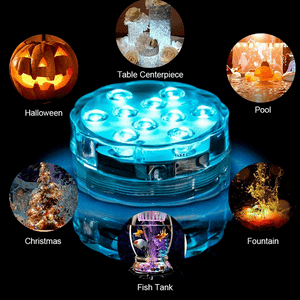 Underwater LED Pool Lights Battery Operated With Remote Control On Amazon