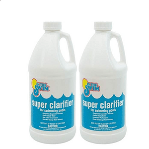 Fast Acting In The Swim Super Pool Clarifier 2 x 1/2 Gallons On Amazon